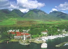 The Best Western Pioneer Inn on Maui, Hawaii is a very historic Hawaiian hotel located at the water's edge on Lahaina Harbor (once the whaling capital of the Pacific)