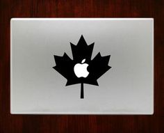 Canada Flag Symbol Macbook Pro / Air 13 Decal Stickers