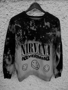 Nevermind is my least favorite of their albums, but this crewneck is cool.