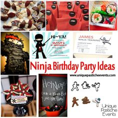 12 Best Ninja Party Images Ninja Party Ninja Birthday Parties