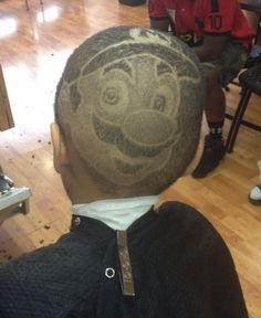 Coolest haircut ever!!