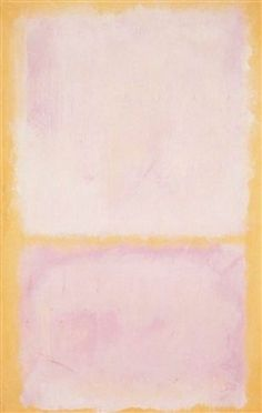 Mark Rothko, untitled, acrylic on paper