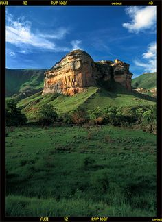 Sandstone buttresses of the Golden Gate area in the Eastern Free State - South Africa Places To Travel, Travel Destinations, Places To Visit, South Afrika, Free State, Beautiful Waterfalls, Golden Gate, 6 Years, Monument Valley
