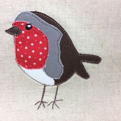 Buy our Raw Edge Applique Christmas Robin. 4x4. Looks like free motion Embroidery. online today and download it instantly. We offer a huge range of machine embroidery designs. Shop today.