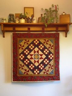 Heartspun Quilts ~ Pam Buda: Market Day ~ Airing of the Quilts ~ Part One
