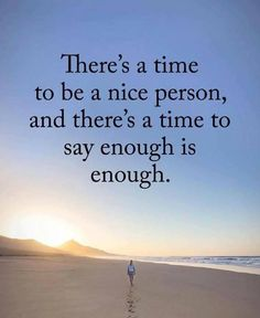 Theres a tome to be a nice person..