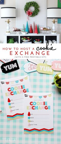 Host a Christmas Cookie Exchange (With a Free Printable Kit!)