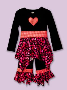 Sew a Valentine's Outfit for your Little Sweetheart! - Totally Stitchin