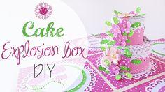 Ciao! Benvenuti in un nuovo video! In questo tutorial vi mostro come realizzare una explosion box con sorpresa all'interno: una torta in 3d, buona visione! -...