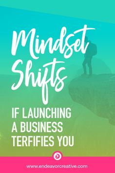 If launching a business terrifies you, here are three important mindset shifts for all new entrepreneurs. Business Entrepreneur, Business Marketing, Business Tips, Online Marketing, Online Business, Content Marketing, Doula Business, Successful Business, Creative Business