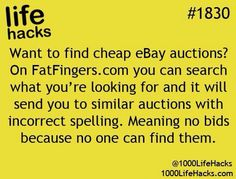 """eBay advice"" because everybody needs a little bit of advice about eBay from time to time."