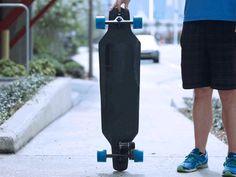 電動に見えない電動スケートボードThe Marbel Board 発表、アプリ操作で30km/h走行 - Engadget Japanese