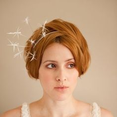 Love this starburst headpiece