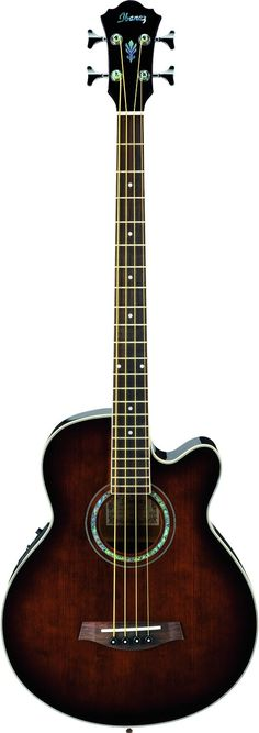 Ibanez AEB10EDVS Acoustic/Electric Bass Guitar