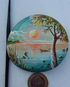 Pebble Painting, Dot Painting, Pebble Art, Stone Painting, Rock Sculpture, Posca Art, Rock Painting Designs, T Art, Rock Design