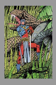 George Perez; Sword of the Atom