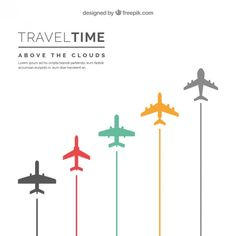 Travel time background Free Vector Flight Attendant Quotes, Airplane Quilt, Airplane Vector, Aviation Decor, Paris Wallpaper, Airline Logo, Time Travel, Travel Plane, Above The Clouds