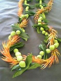 Mokihana, mock orange leaves and kukunaokala