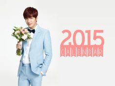 Calender Lee Min Ho 2015