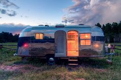 Stunning Restored 1954 Airstream Flying Cloud Travel Trailer Restored 1954 Airstream Flying Cloud Travel Trailer – HomeDSGN, a daily source for inspiration and fresh ideas on interior design and home decoration.