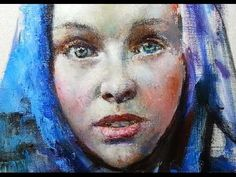 FREE! How To Paint Renaissance Portrait With Knife In Oil. Tutorials, Tips & Tricks By Sergey Gusev. - YouTube