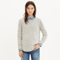 Marled Sweater Inspiration // madewell // not a pattern