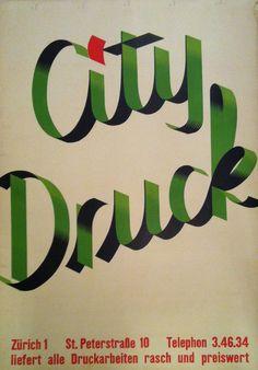 City Druck – 1951