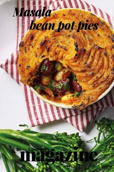 Make-ahead tikka masala bean pot pies with a fluffy butternut squash and mashed potato topping. Get the Sainsbury's magazine recipe