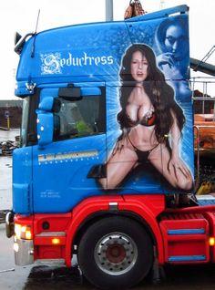 """Seductress"" Scania"