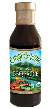 OrganicVille BBQ Sauce ~ one of the only ones I found that was free of all main allergens