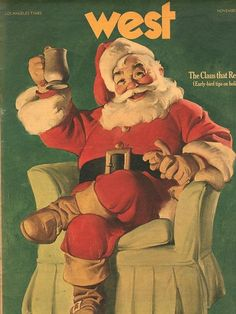 Vintage Christmas Magazine ~ West ©November 14th, 1971