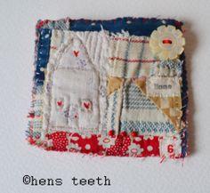 hens teeth : brooch / pin