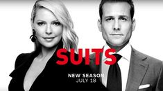 Katherine Heigl stirs things up in Suits season 8 trailer - Entertainment Focus Katherine Heigl, Suits Harvey, Suits Tv Series, Series Movies, Suits Season, Season 8, Gabriel Macht, Harvey Specter, Tv Land