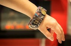 Unique Handcrafted Steampunk Bangle Industrial by CraftyHarbour