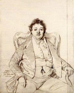 Jean Auguste Dominique Ingres (1780 - 1867)