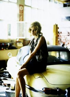 That Girl knows that a classic ride trumps a shiny new car any day.