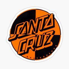 Skateboard Storage, Skateboard Logo, Santa Cruz Stickers, Santa Cruz Logo, Hand Sticker, Hand Logo, Cute Disney Wallpaper, Cool Stickers, Aesthetic Iphone Wallpaper