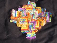 freeform crochet, short rows