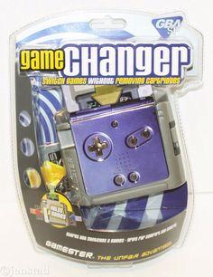 NINTENDO GAMEBOY ADVANCE SP GBA GAME CARTRIDGE CHANGER RADICA GAMESTER 2003 NEW #Gamester