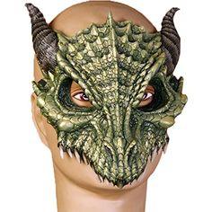 Green Dragon Half Mask Forum Novelties https://www.amazon.com/dp/B003JM6Y10/ref=cm_sw_r_pi_dp_x_YxOcyb6QPT069