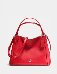 COACH Edie 28 Crossbody Bag in Wild Beast Print Leather  a81d34b8ba9da