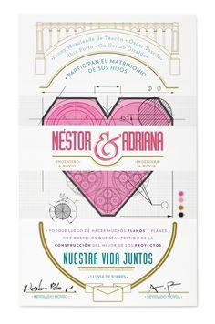 Weddings by Veleta , via Behance