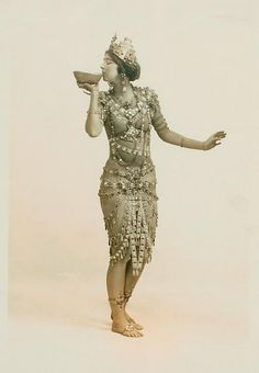 Ruth St. Denis in Radha. by New York Public Library, via Flickr