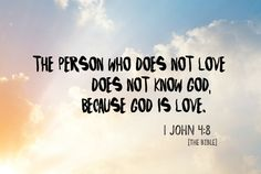 """Blog post: """"Jesus v Love?"""" - A response to a reader's comments."""