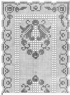 σεμεν Crochet Table Runner Pattern, Crochet Edging Patterns, Filet Crochet Charts, Vintage Crochet Patterns, Crochet Tablecloth, Doily Patterns, Crochet Designs, Crochet Doilies, Crochet Afghans
