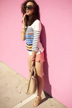 STRIPED  Chriselle Lim <3