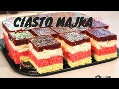 Ciasto Majka   Pyszny biszkopt z kremem świetanowo - owocowym - YouTube Polish Recipes, Polish Food, Tiramisu, Cheesecake, Ethnic Recipes, Cakes, Youtube, Kuchen, Cake Makers