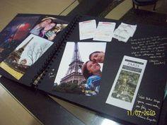 Modelos de Álbum para Scrapbook - Papeleira Maluca