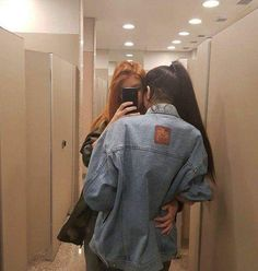 Find images and videos about love, couple and gay on We Heart It - the app to get lost in what you love. Cute Lesbian Couples, Lesbian Love, Cute Couples Goals, Couple Goals, Gay Aesthetic, Couple Aesthetic, Aesthetic Grunge, Ulzzang Couple, Ulzzang Girl