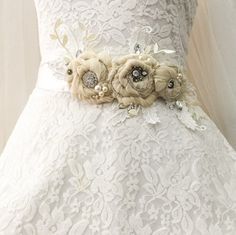 Bridal Sash Belt By Anitahiltonweddings Sch Art Pinterest Belts And Belted Wedding Dresses